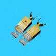 RJ45 connector for CAT6 FTP wire hole 1.5