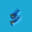 RJ45 Connector Blue for Cat5e UTP