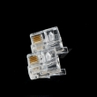 Telephone Connector RJ11/RJ12 6P4C
