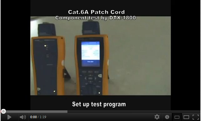 Cat.6A Patch Cord Component Test